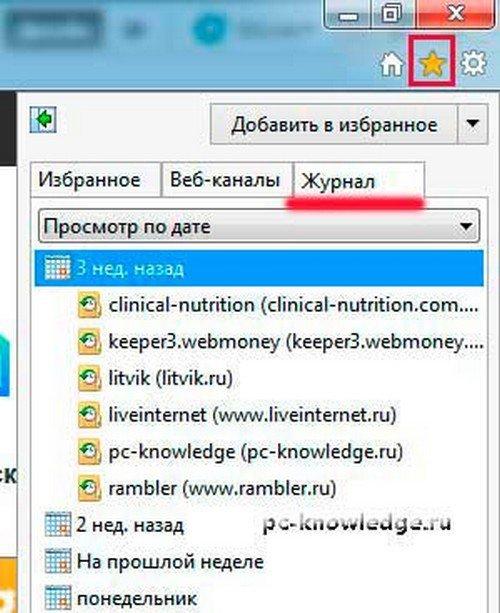 Как посмотреть историю посещений сайтов на разных браузерах
