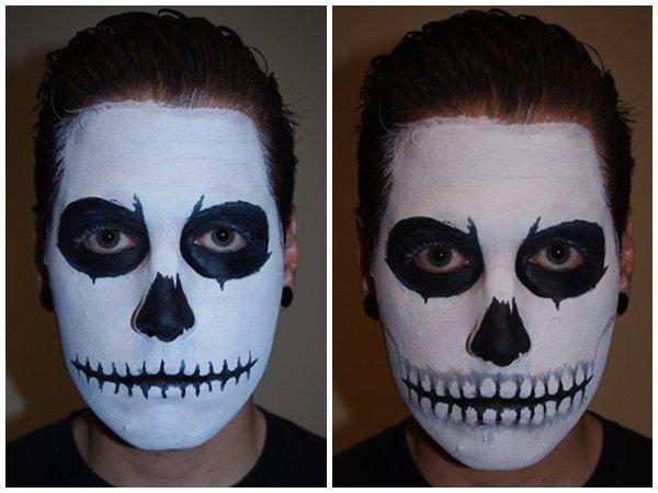 Как раскрасить лицо на Хэллоуин 2014 в домашних условиях, фото