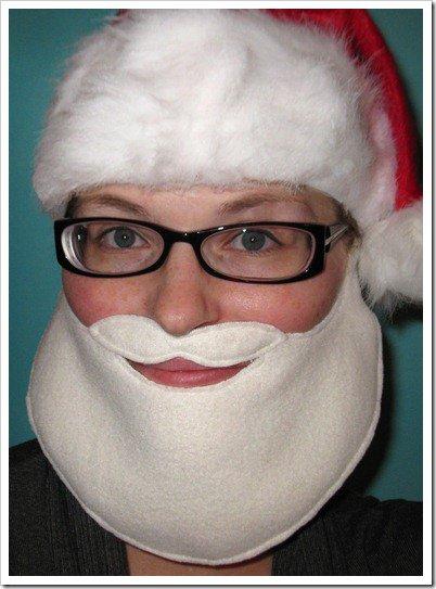 Как сделать бороду Деда Мороза своими руками, мастер-класс с фото