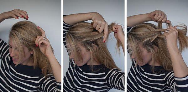 Как сделать красивую прическу конский хвост с начесом — фото мастер-класс