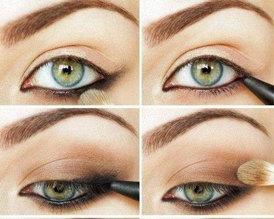 Как сделать красивый макияж для зеленых глаз?