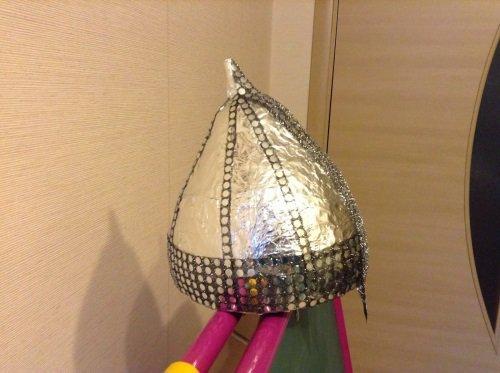 Как сделать шлем. богатыря