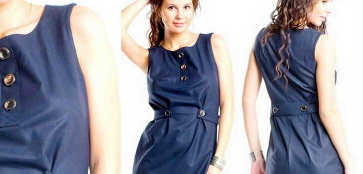Как сшить самое простое платье своими руками