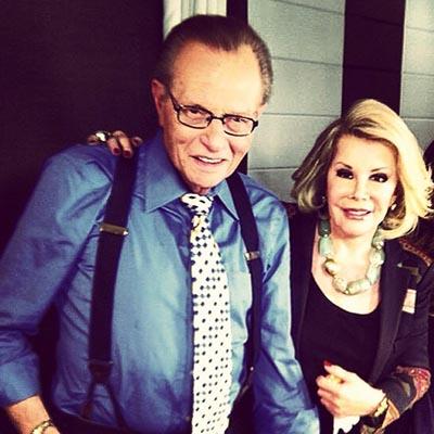 Как знаменитости восприняли смерть Джоан Риверз
