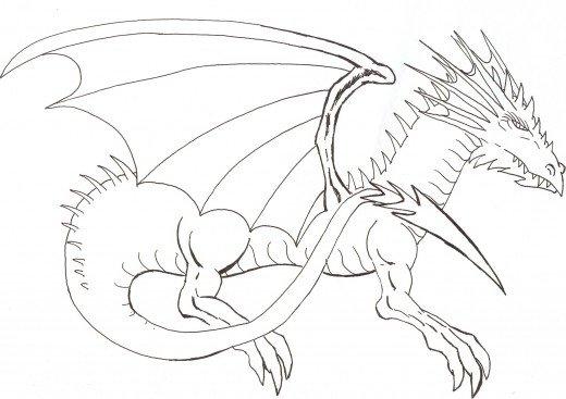 Как нарисовать дракона: создание уникального мифического существа