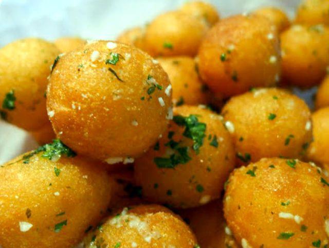Картофельное пюре шариками рецепт