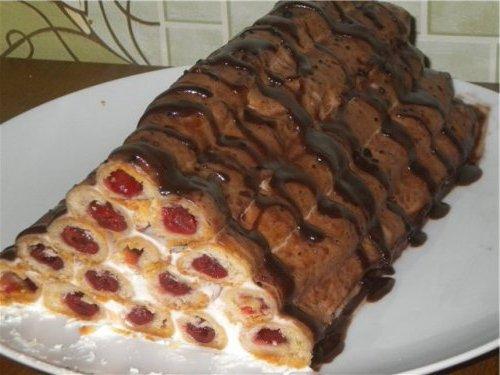Торт поленница рецепт с фото