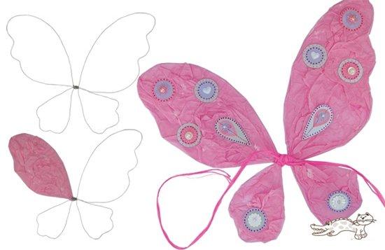 Как из бумаги сделать крылья феи своими руками