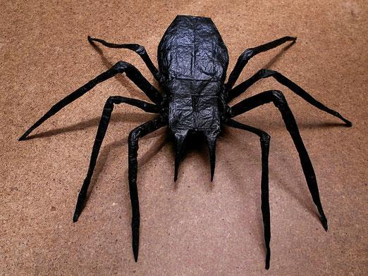 Как сделать паука из бумаги маленького - Shmorl.RU