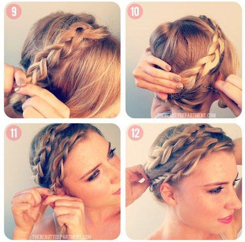 Как делаются причёски на короткие волосы