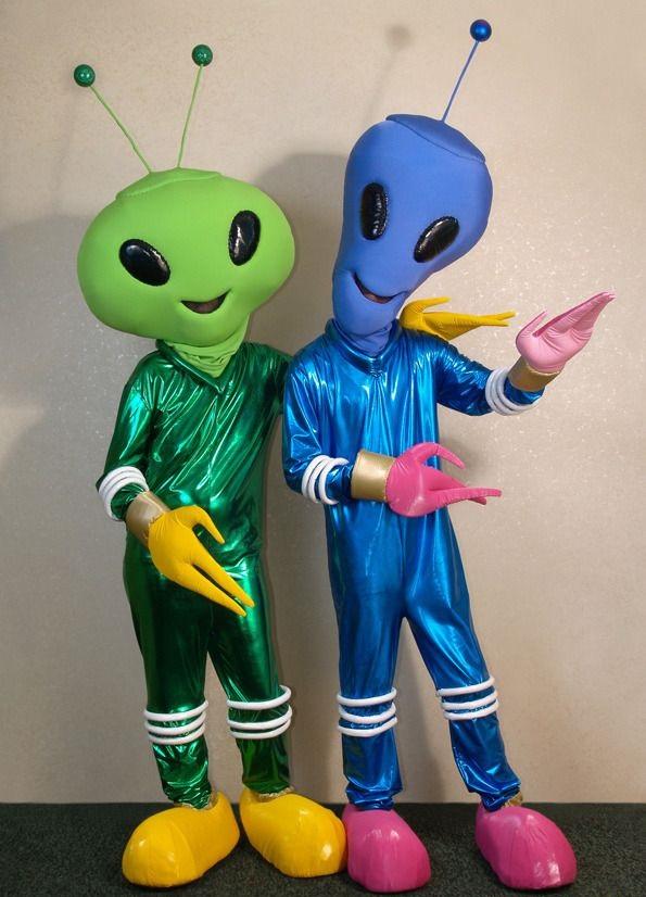 Как сделать инопланетянина своими руками из подручных материалов