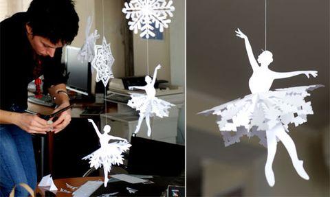 Дизайн украшения для витрин на новый год
