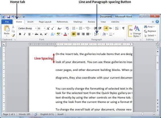 Как сделать эпиграф в ворде 2010