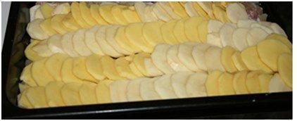 картошка в духовке пошаговый фото рецепт пошаговый