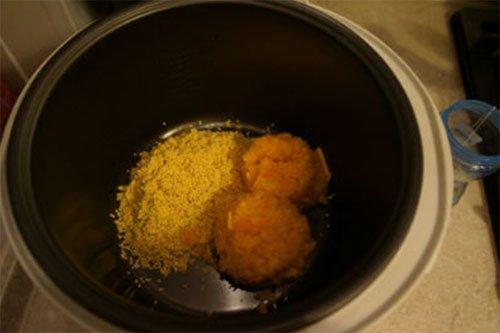 Пшенная каша с тыквой в мультиварке панасоник рецепт с фото