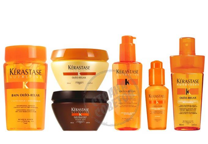 Kerastase Nutritive Oleo-Relax шампунь, маска, уход, эликсир