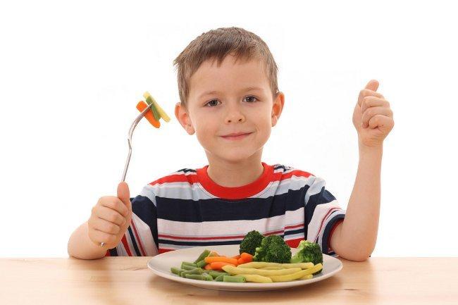 Примерное меню ребенка до четырех лет