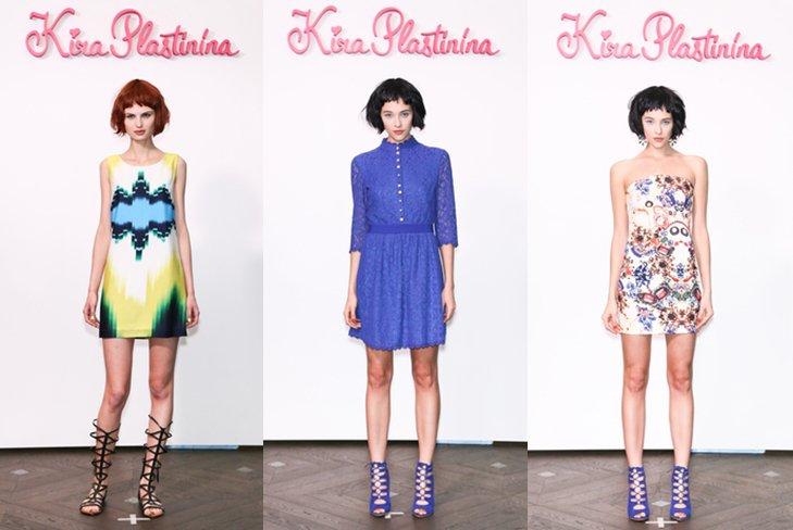 Кира Пластинина представила весенне-летнюю коллекцию 2014 года