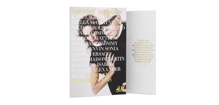 Компания H&M издаст книгу о коллаборациях с именитыми дизайнерами