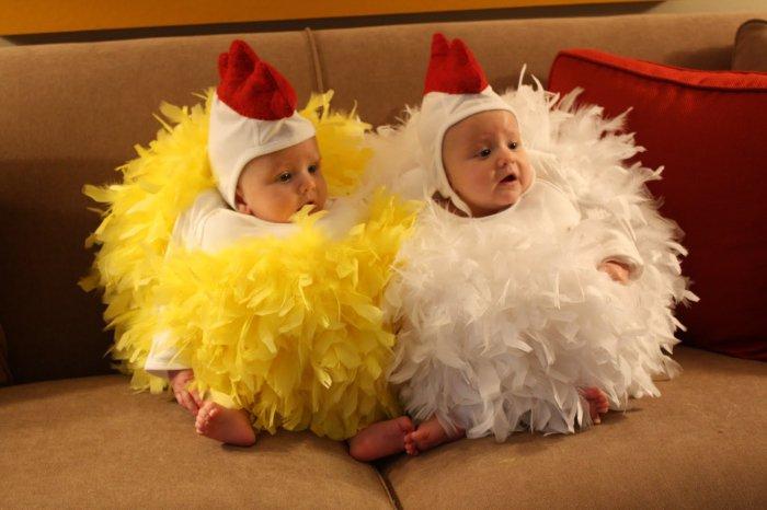 Как сшить костюм цыпленка своими руками