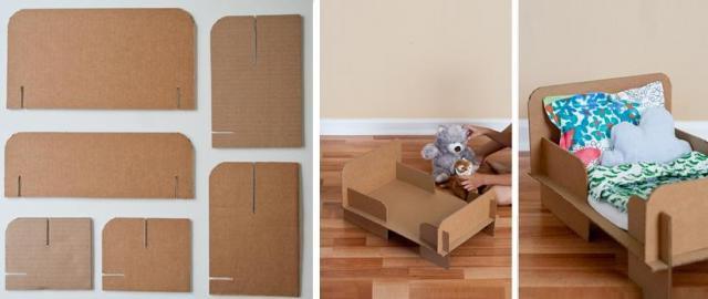 Как сделать кровать своими руками для кукол видео