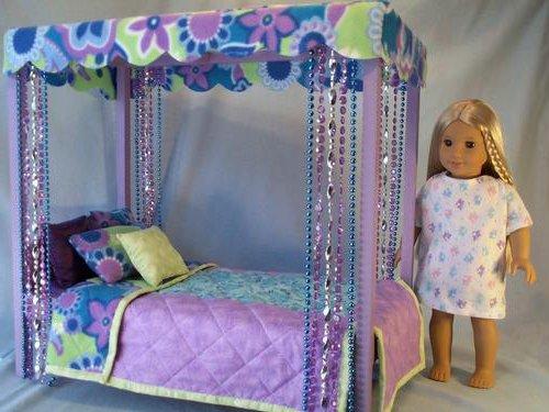 Как сделать кровать для кукол своими руками для маленькой