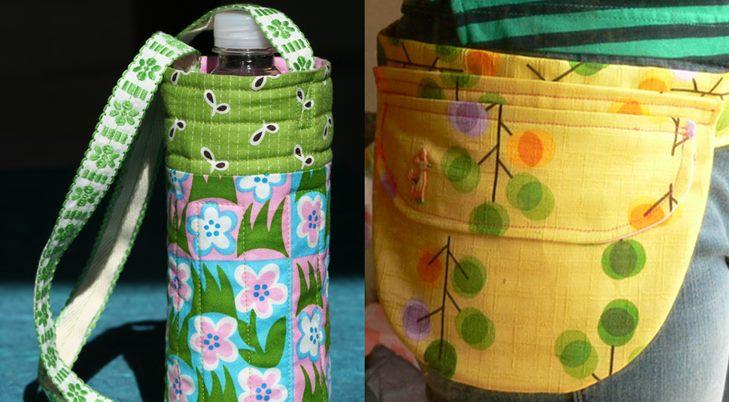 Две необычные летние сумки своими руками