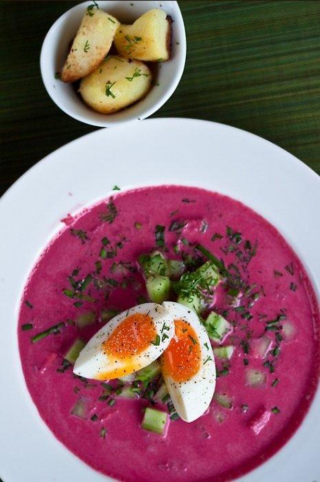 Летний суп со свеклой пошаговая инструкция с