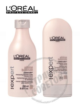 LOreal Professionnel Shine Blonde шампунь, уход