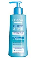LOreal Pure Zone гель, крем, тоник, средство, уход