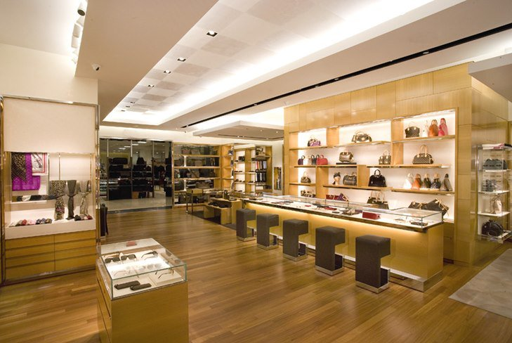 Новый бутик Louis Vuitton в Париже