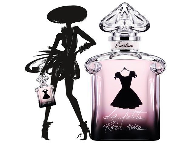 Маленькое черное платье духи герлен 50