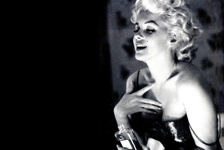 Новое лицо рекламной кампании Chanel No.5 – Мэрилин Монро