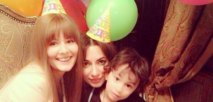Мария Кожевникова поздравила сына певицы Зары с днем рождения