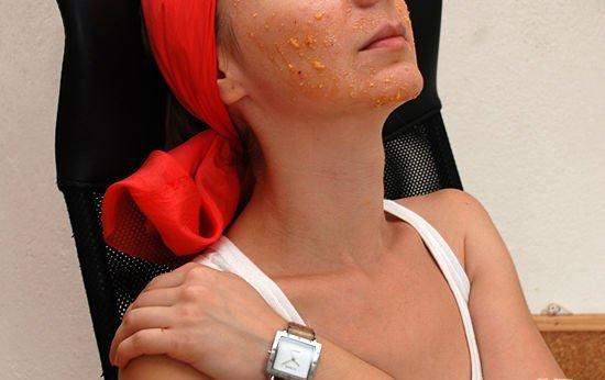 Маска из персика для лица и волос: берем у природы лучшее