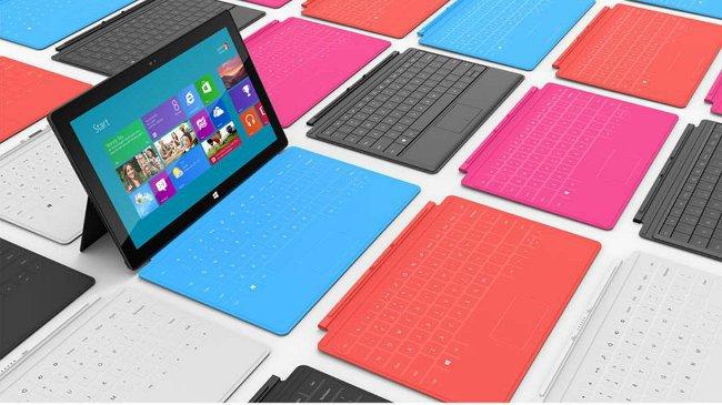 Планшетный компьютер от Microsoft: Surface 2.0