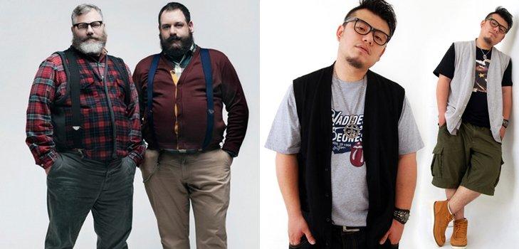Мода для полных мужчин в 2014: особенности кроя, идеальные расцветки и материалы
