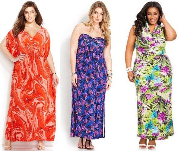 Мода для полных женщин 2014-2015