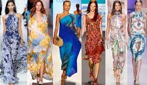 Модные платья для летнего сезона 2014 года
