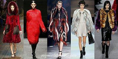 Модные шубы, Зима 2014-2015: фото модных моделей и фасонов женских шуб, Осень-Зима 2014-2015