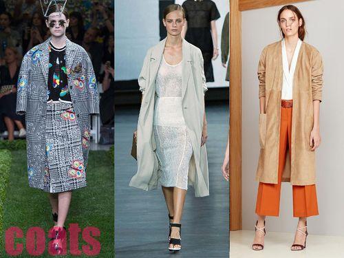 Модные женские пальто, Весна 2015, фото лучших моделей
