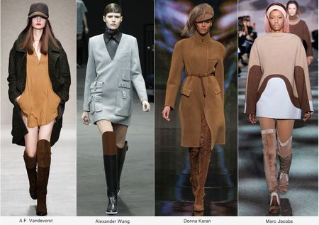 Модные женские сапоги, Весна 2015, фото самых стильных моделей