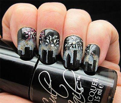 Модный дизайн ногтей, Зима 2015: фото самого креативного маникюра, Осень-Зима 2014-2015
