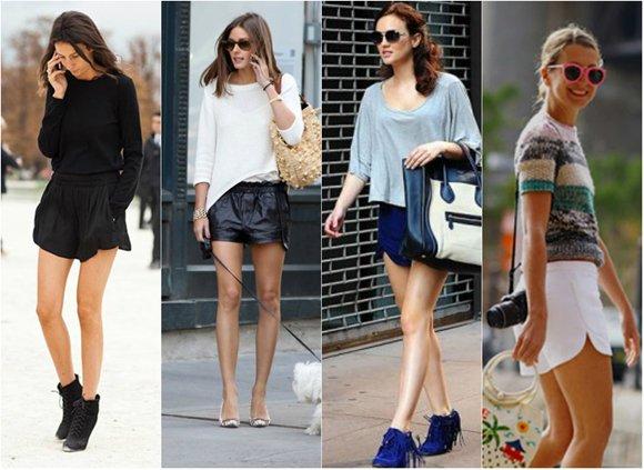 Модные шорты лето 2014