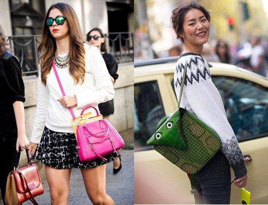 Модные сумки весна лето 2014
