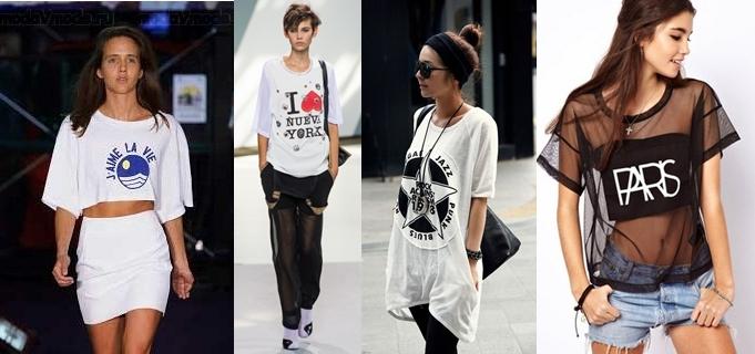 Модные молодежные футболки