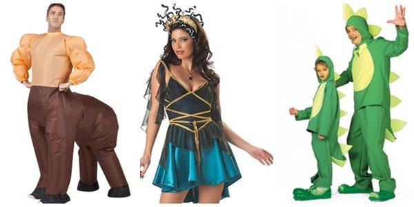 Необычные костюмы для Хэллоуина 2014