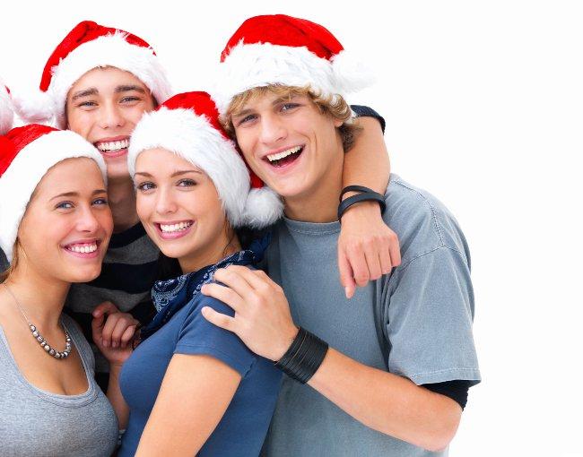Новый год для подростков