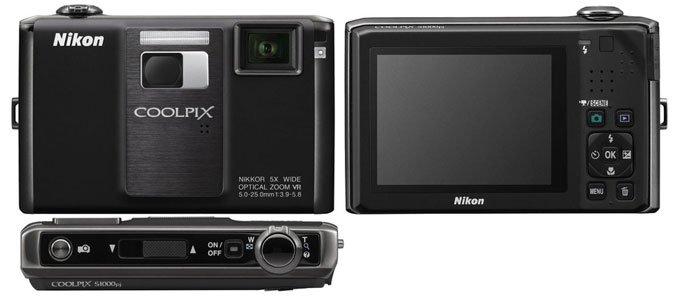 Nikon COOLPIX S1000pj Цифровая камера Nikon