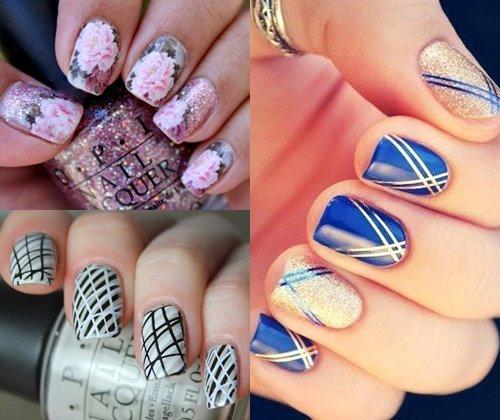 Модные ногти зима 2013 -2014: фото самых модных вариантов дизайна ногтей 2014 года